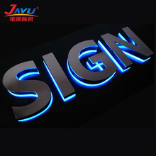 Customized diy led backlit channel letter sign for outdoor ad sign