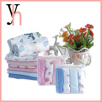Wholesale biredeye design 70cm*70cm cotton cloth baby diaper nappy