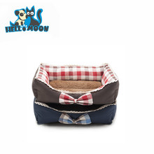 Wholesale Popular Dog Beds Furniture WIth Bow Tie For Middle Small Dogs