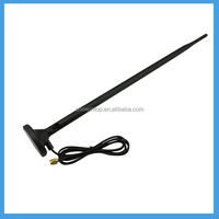 2.4GHz DIPOLE 8dBi wirelss Antenna wifi RP SMA Male with strong base