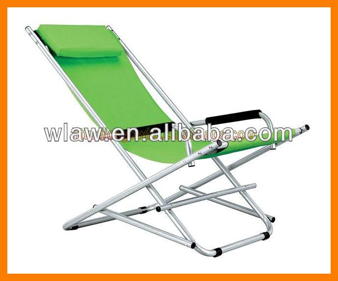 Plegable silla mecedora columpios de patio identificaci n - Mecedora plegable ...