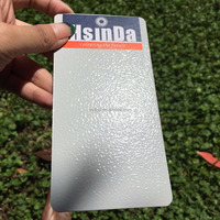Decorative Polyester Epoxy Gray Wrinkle Texture Powder Coating