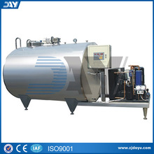 200L-2000L dairy refrigerated milk cooling tanks price