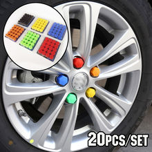 Custom Design High Quality New Accessories Auto Vehicle Car Silicone Wheel Nut Cover