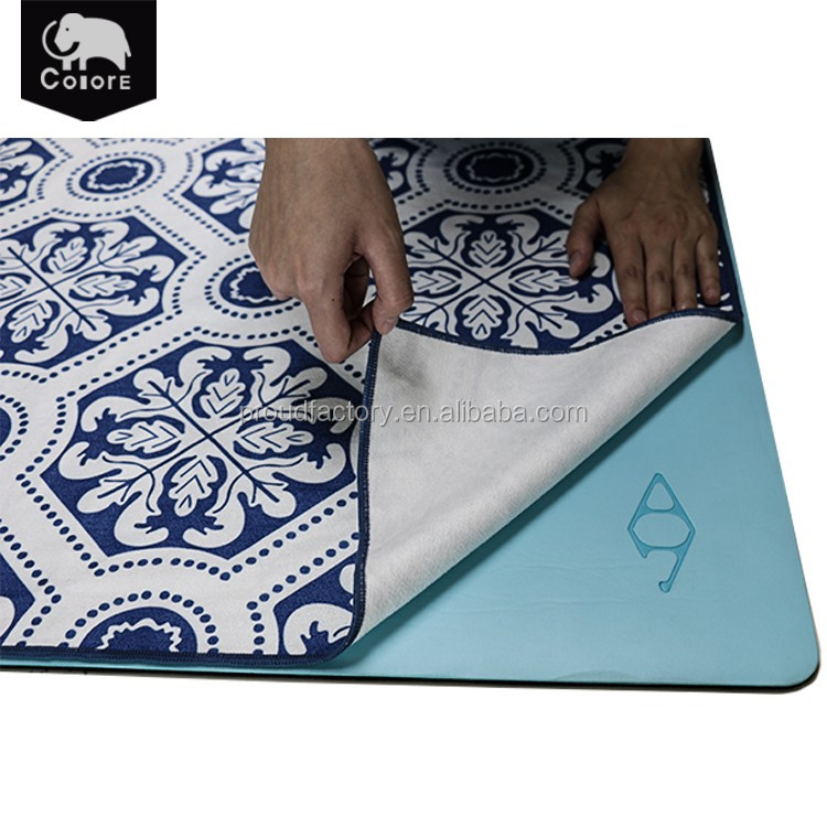 Best sale custom cozy gym towels wholesale for yoga sport exercise