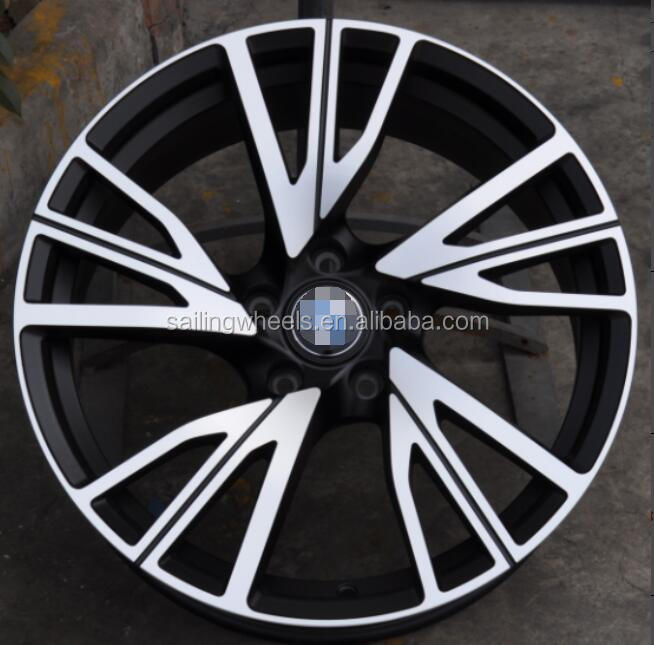 18/19/20 inch auto drive systems car alloy wheel rims with 5x120 5x114.3 5x112