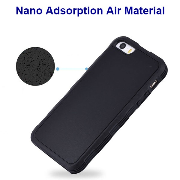 IP5027 Factory in stock Cell Phone Anti Gravity Adsorption Case for iPhone 5/5S/SE