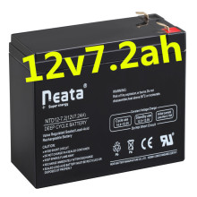 Neata 12V 7.2Ah Rechargeable lead acid maintenance free solar battery