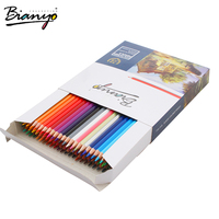 Bianyo OEM high quality 72 color pencil set/72 oil color lead