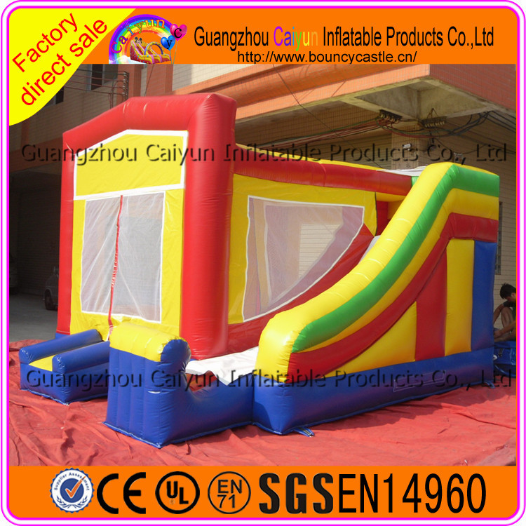 Trade assurance residential inflatable bounce house kids jumping castle