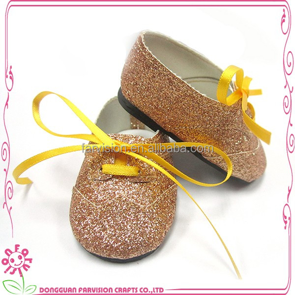 Glitter dance sneakers dancing dolls shoes, hot patterns doll shoes