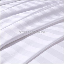 100% cotton or polyester and cotton jacquard/stripe/satin fabric for hotel and hospital