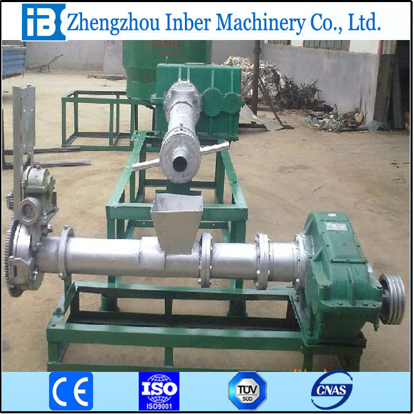 USED HDPE flakes/plastic two steps granulating/granules machine FOR SALE