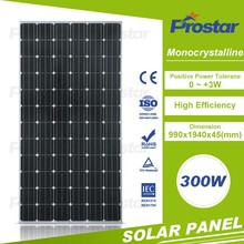 mono panel soalr 300w72cells with good reputation