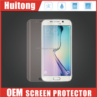 New coming!Mobile phone 3D curved edge tempered glass screen for samsung S7 edge /galaxy S7 clear screen protector
