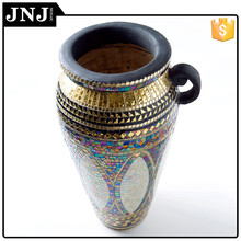 Wholesale Home Table Wedding Decoration Glass Mosaic Vase