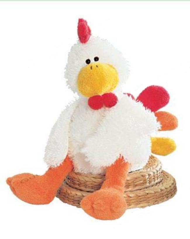 Cheap Wholesale Promotional Cute plush chicken that lays eggs toy