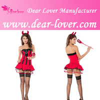 New Design 2014 wholesale Hottie Halloween Costume used mascot costumes for sale