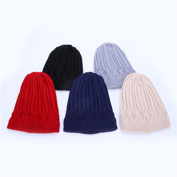 China Factory Cheap Acrylic Custom Patch Wholesale Hot Sale Men Beanie Hat Winter