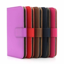 Smooth Magnetic Leather Wallet Phone Case Cover with ID Card Slot Holder Stand for iphone 8/ 7 / 7 plus / 6 plus for Samsung