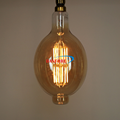 12Watt Extra large Vintage LED Filament Glass Cover BT180 LED Bulb with E40 E27 base Dimmable