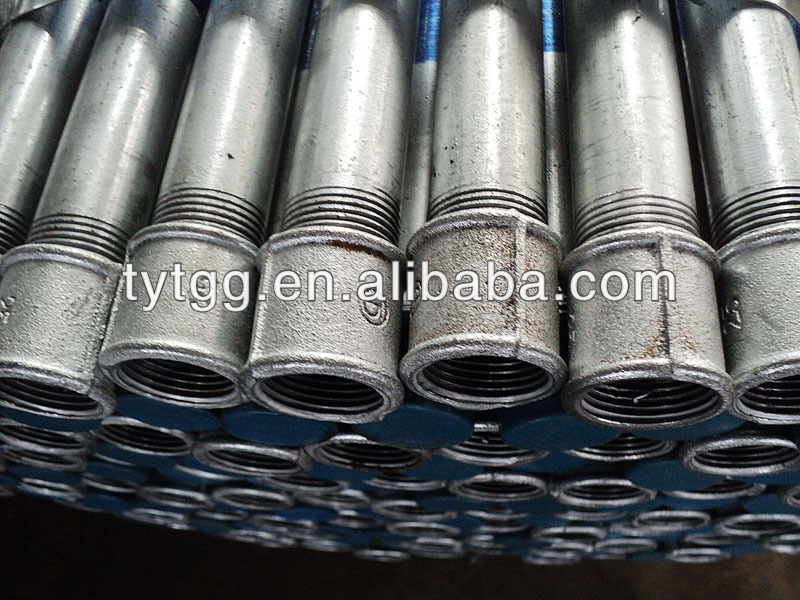 threaded galvanized steel pipe 1 1/4 inch china made in china