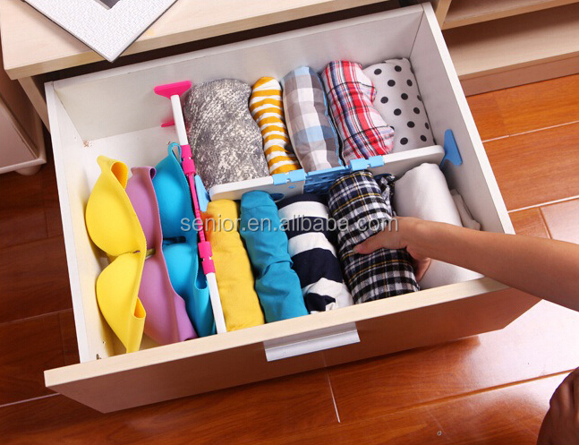 Adjustable Plastic Drawer Divider