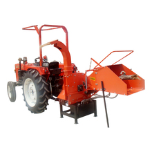 Hot sell Tractor driven PTO wood chipper with hydraulic feeding