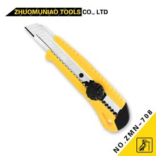 Special Design Safety Cutter Hand Tools ZMN-708 18MM Plastic PP A3