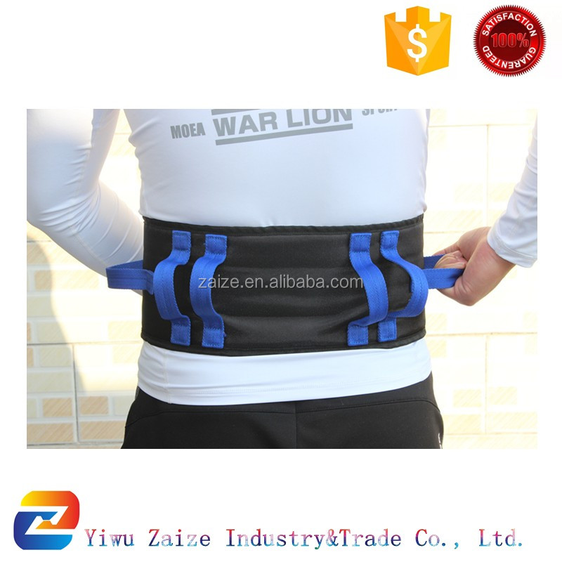 Secure Transfer Walking Gait Belt with Six Hand Grips and Quick Release Buckle