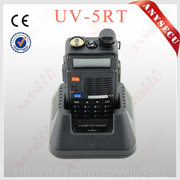 Hot sale BAOFENG UV-5RT radio long distance Commercial Two-Way Radios.