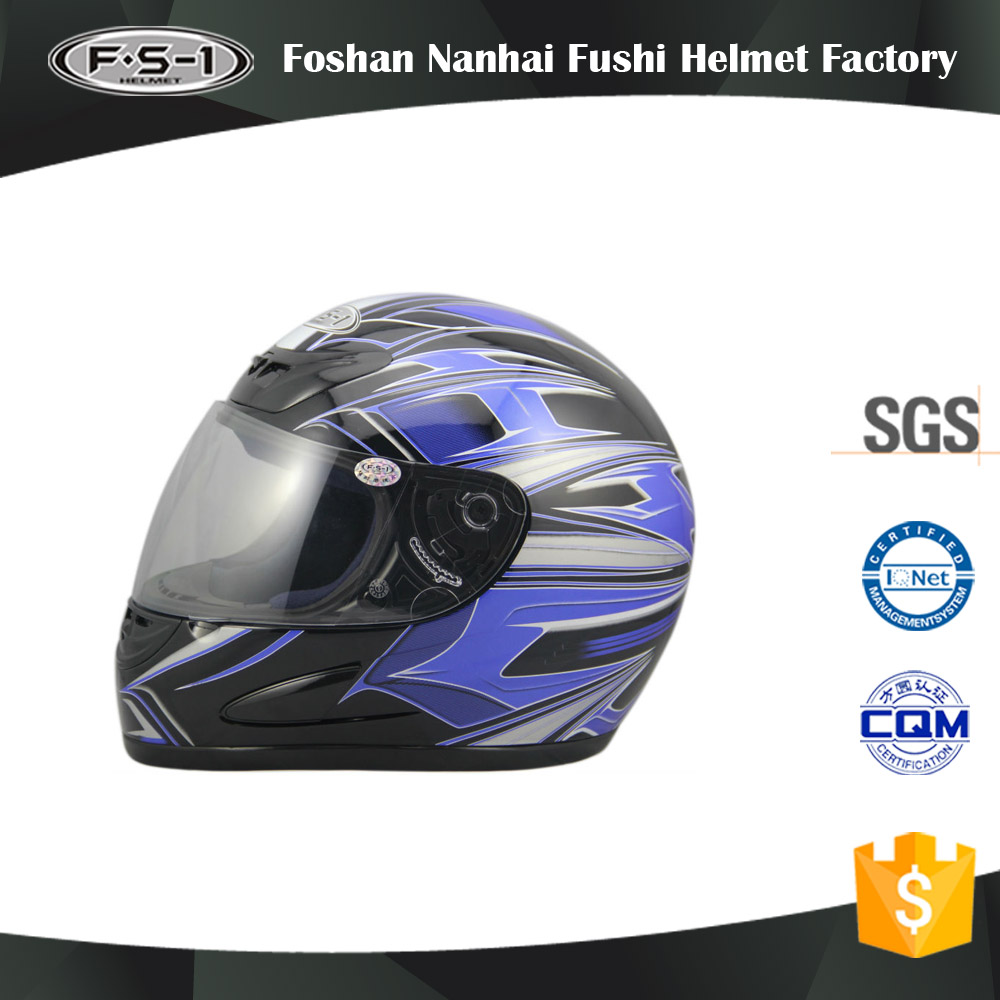 DOT unique full face motorcycle helmets for helmet
