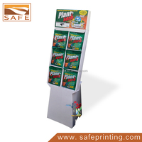 Cardboard Paper Six Pack Cell Snack Sign Product Holder Display Unit