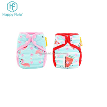 Reusable cloth diaper nappies cover waterproof one size nappy cover custom newborn diaper cover