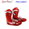 Professional Boxing Shoes Kick Boxing Shoes Leather Bcxing Shoes