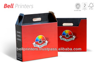 Trade fair Corporate branded carry Boxes