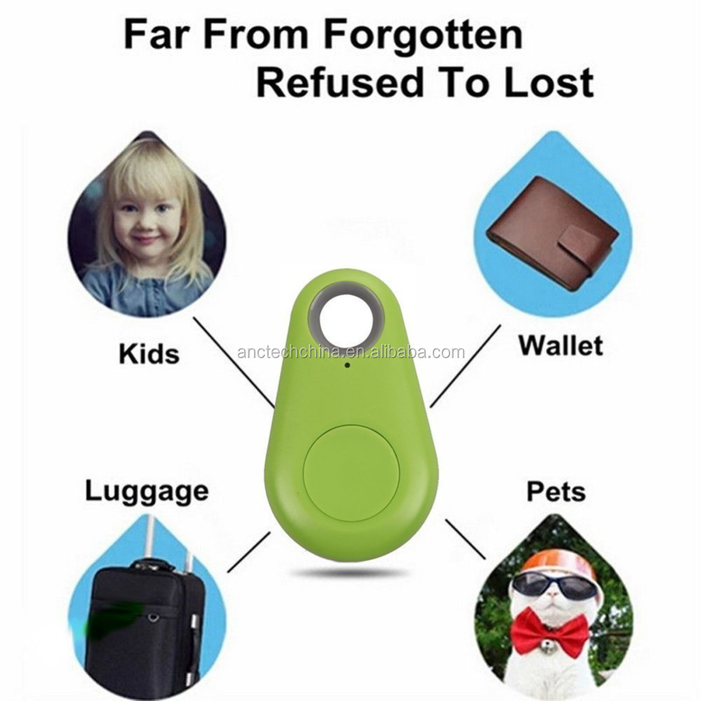 iTag Smart Anti-Lost Alarm Bluetooth Remote Shutter GPS Tracker for Kids, Keys & Pets