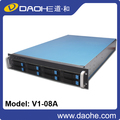 server case new 2U 8bays storage server case,rack case, hotswap fanwall rackmount chassis
