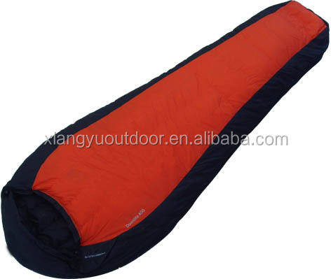 Outdoor Goose Down Sleeping Bag for cold Weather