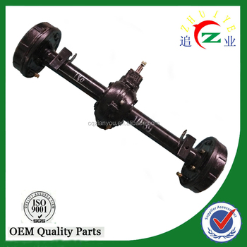 Good quality electric motor rear axle for tricycle/go kart/atv/golf kart