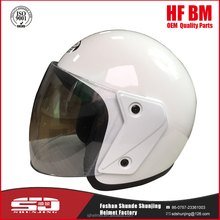 DOT standard safety motorcycle 3/4 open face half helmet abs helmet