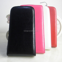 Manufacturer Wholesale Luxury Ultra Slim Fit Vertical Phone Case with Magnetic Flip Leather Cover