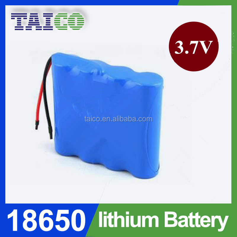 Best Price Li-ion Battery Pack 3.7v 18650 8000mAh With PCM