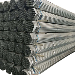 Q195 / A53 SCH 40 Round Galvanized Grooved End pipe greenhouse steel provider