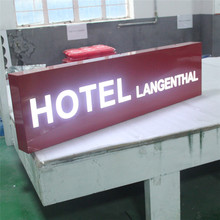 Stainless Steel Acrylic Cover Hotel Sign Board