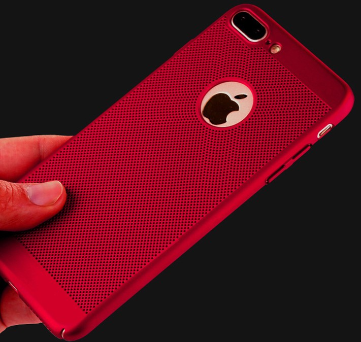 Carbon Fibre Cell Phone Case For iPhone 7 Thin Back Cover