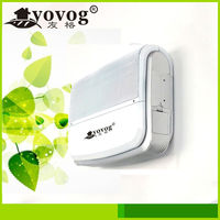 Wall mounted Ozone generator air Purifier with UV air quality sensor ion cleaner for home use