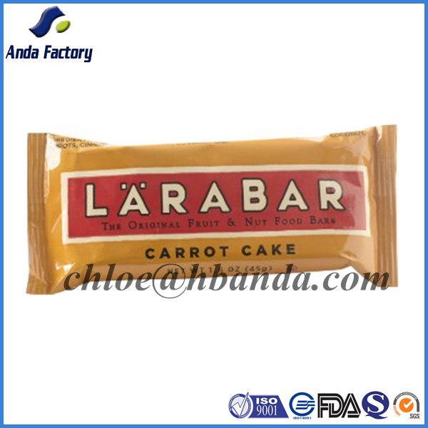 Chocolate bar cereal bars plastic food packaging film