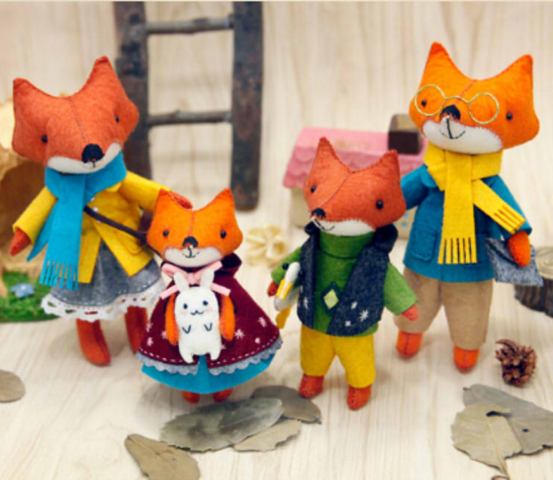 alibaba fr unique gift christmas toys for kids cute orange fox toy best selling hot chinese products felt animals