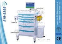 Emergency trolley hospital furniture
